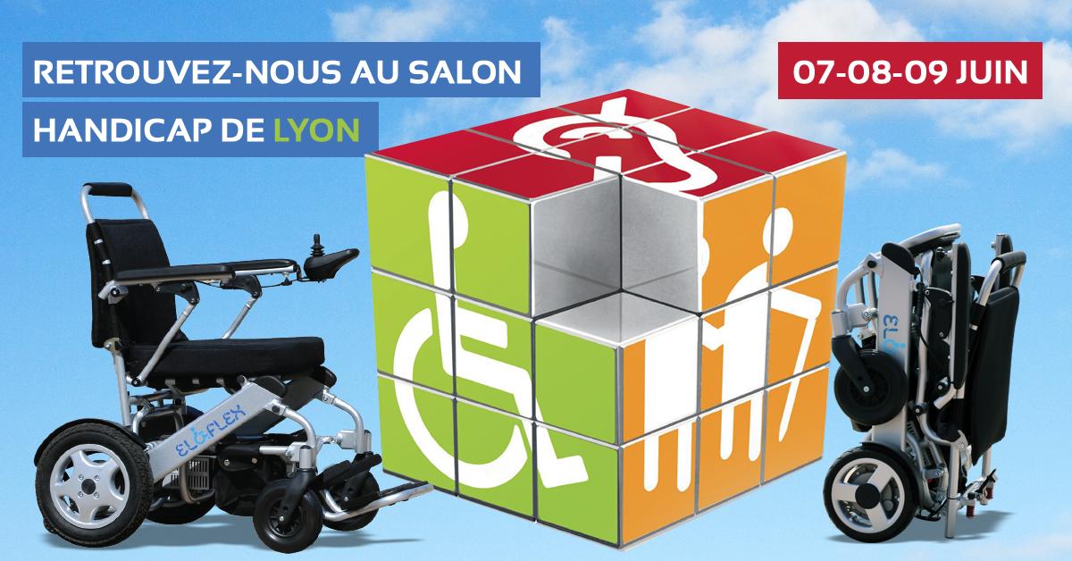 Eloflex au salon handicap de lyon les 7 8 et 9 juin 2017 for Salon handicap 2017