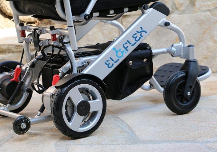 Fauteuil roulant électrique en aluminium