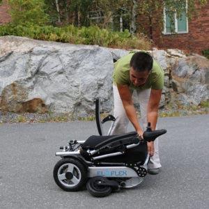 Eloflex fauteuil roulant électrique pliable