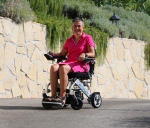 Le plus compact des fauteuils roulant électrique
