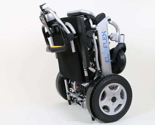 Commande intuitive W sur fauteuil Eloflex plié