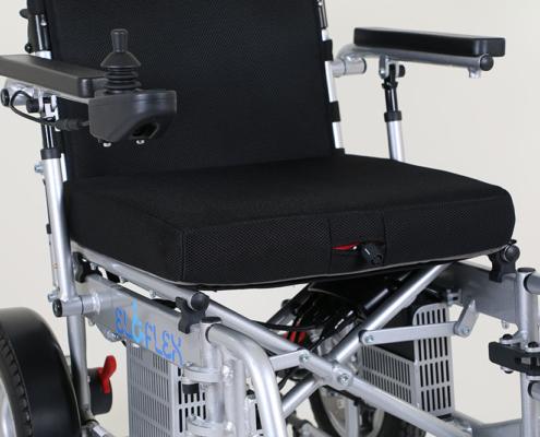 Coussin Airpad pour fauteuil roulant électrique pliable Eloflex