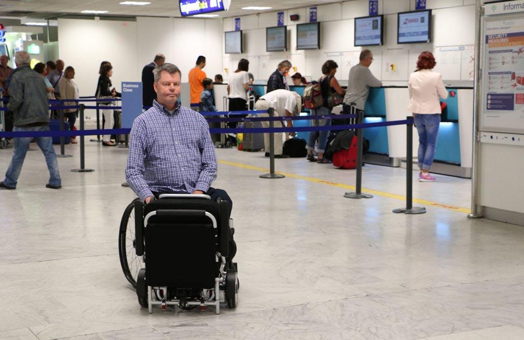 Eloflex a l'aéroport