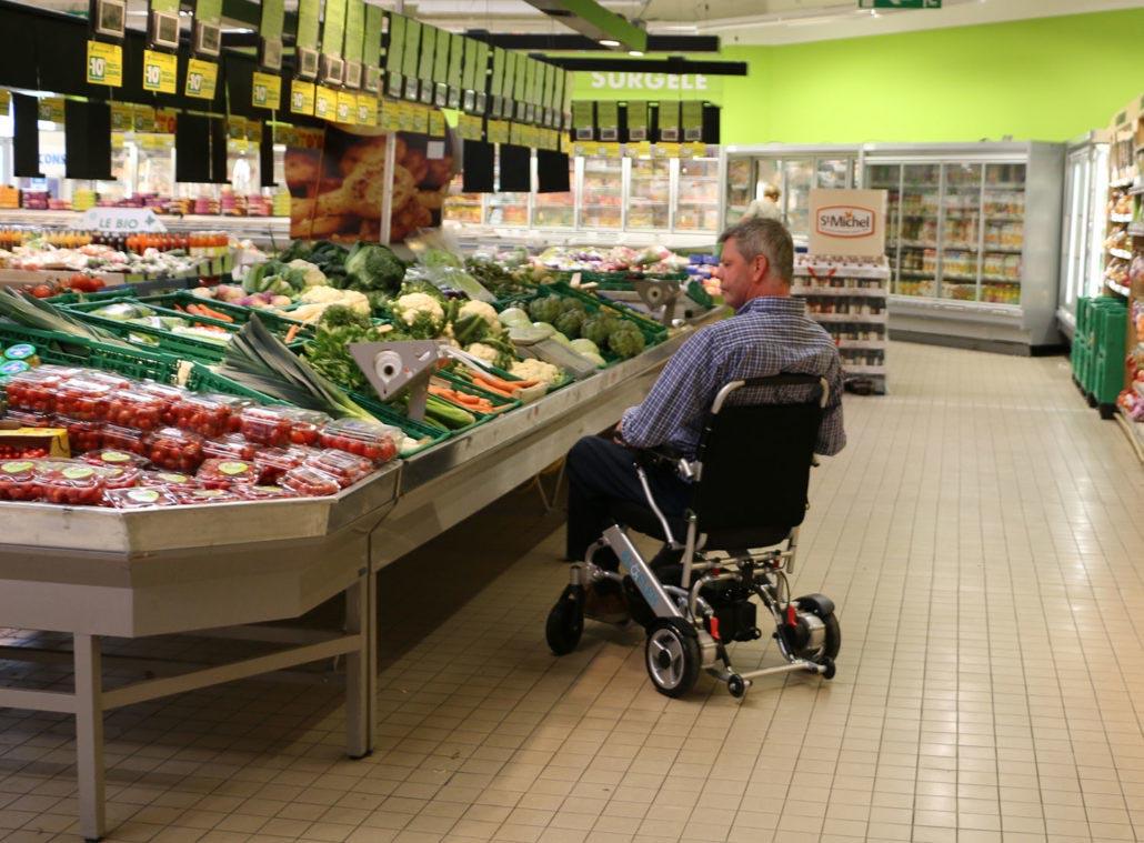 Eloflex adapté pour faire ses courses