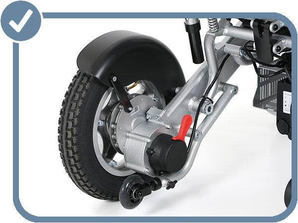 Eloflex détail roue