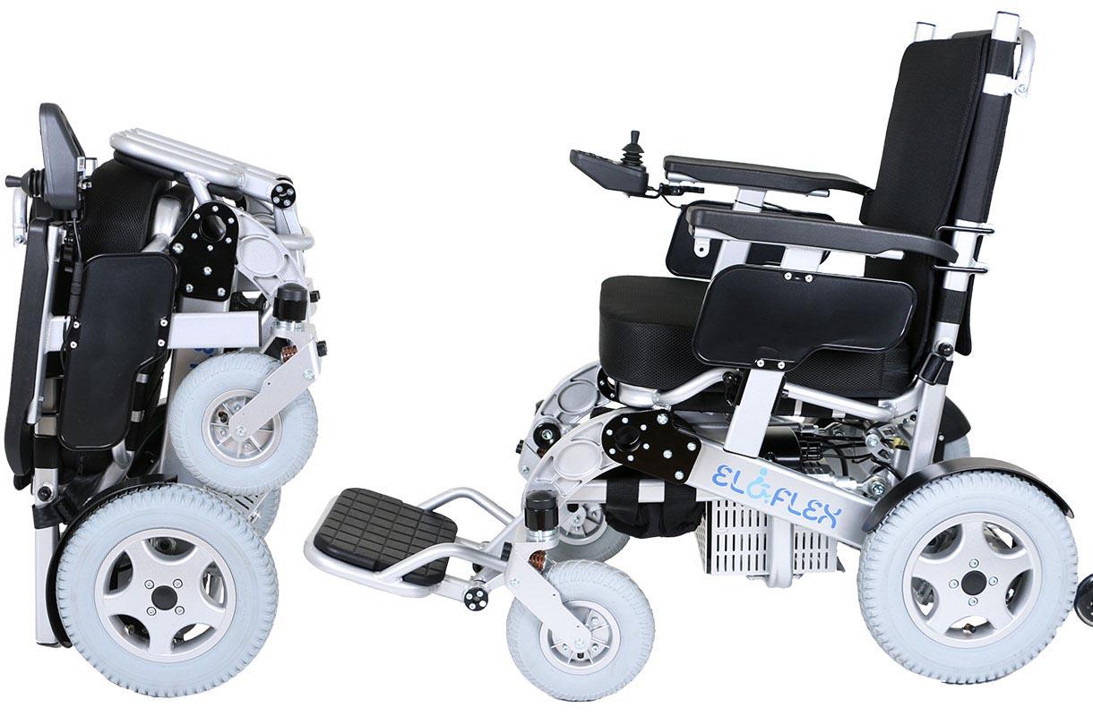 fauteuil roulant électrique pliable Eloflex modèle H