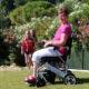 eloflex en été dans le jardin