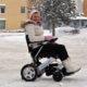 eloflex roule sur la neige ferme