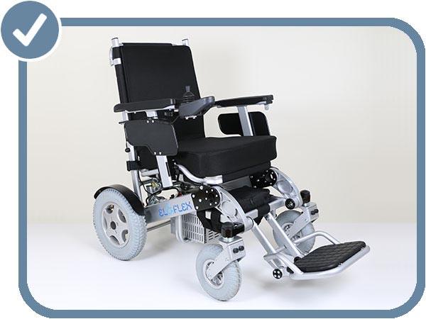 fauteuil roulant électrique pliable Eloflex H