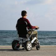 fauteuil roulant électrique pliable Eloflex modèle F