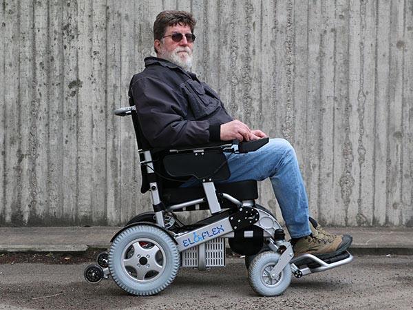 fauteuil roulant électrique pliable Eloflex modèle H profil
