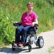 fauteuil roulant électrique pliable Eloflex modèle P