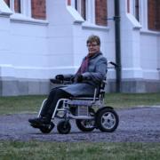 fauteuil roulant électrique pliable Eloflex modèle X