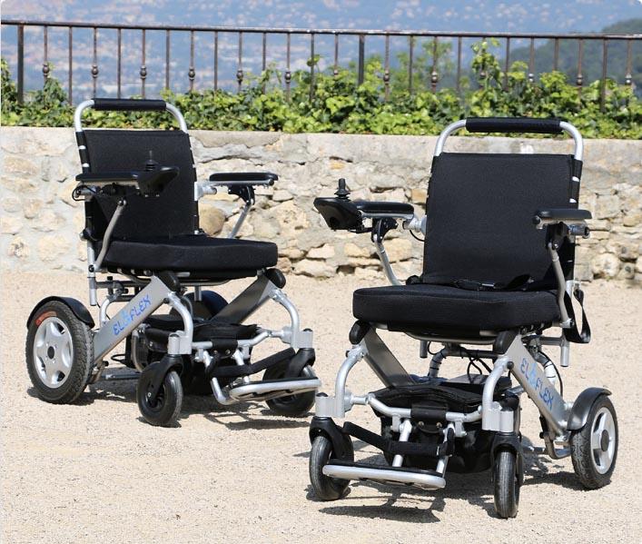 fauteuils roulants électriques pliables Eloflex plusieurs modèles