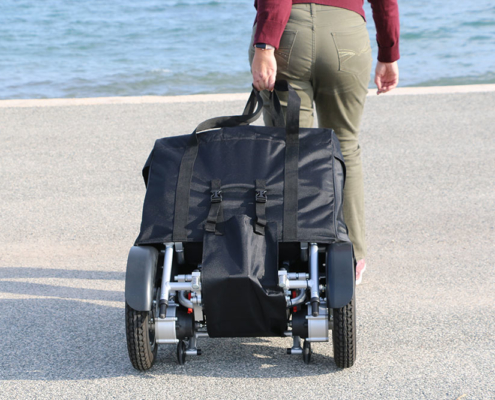 Housse de protection pour tirer son fauteuil