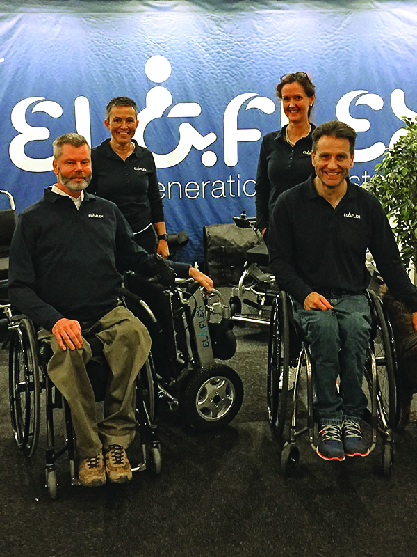 les fondateurs d'Eloflex