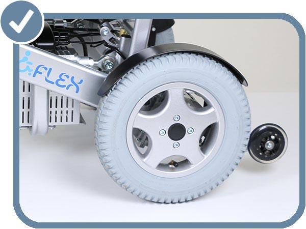 Modèle H grandes roues pneumatiques