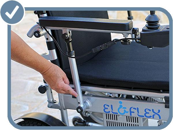 modèle X accoudoirs réglables en hauteur pour plus d'ergonomie