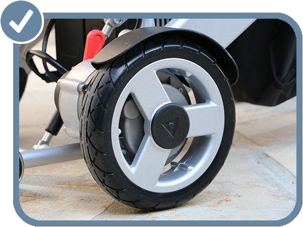 roues anti-crevaison Eloflex