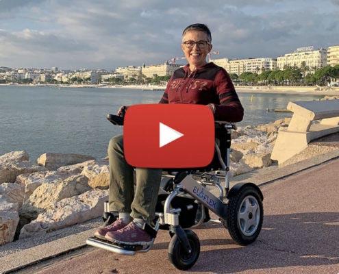 Vidéo Eloflex le fauteuil roulant suédois